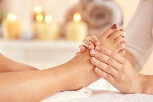 masaje y velas